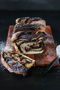 chocolate & cinnamon swirl loaf | The Secret Life of Bee