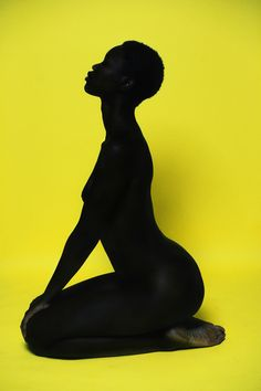 """edmaximus:  """"For Colored Girls…"""" by Ed Maximus   Currently shifting my focus on creating primarily with black subject. This photo is from one of my new projects: """"For Colored Girls…"""" If you are any shade of black w/ decent skin, no major not too many tattoo, comfortable with nudity, in NYC, and interested, hit me up thru here or email: photo at edmaximus.com"""