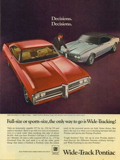 GM of Canada advertisements   old car ads home   old car brochures   old car manual project ...