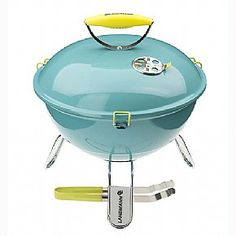 Landmann Piccolino Portable Charcoal Barbecue - Turqouise
