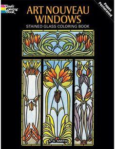 Art Nouveau Designs - Coloring Book