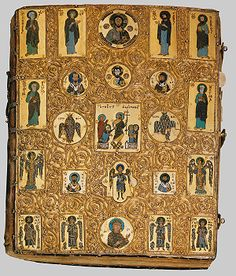 Lectionary Binding.  Constantinople (?)  second half of the 13th or early 14th century.