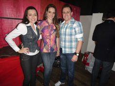 Miss Joinville Karol Meier também foi destaque do evento da loja Central da Moda em São bento do Sul.