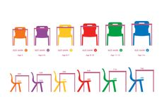 Children's Furniture in Europe Kindergarten Interior, Kindergarten Design, Nursery Furniture, Kids Furniture, Furniture Design, Kids Table And Chairs, School Furniture, Recycled Furniture, School Classroom