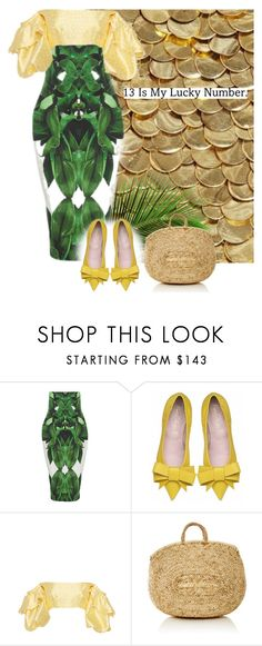 """Lucky Number"" by cherieaustin ❤ liked on Polyvore featuring heidiwynne and lealdaccarett"