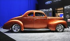 """1940 """"Catch Me If You Can!"""" Ford Coupe 2012 AMSOIL/STREET RODDER Project by Street Rodder Magazine"""