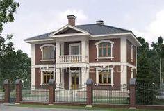 Картинки по запросу двухэтажный дом с верандой кирпич