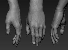 ArtStation - Hand, Andrey Gritsuk