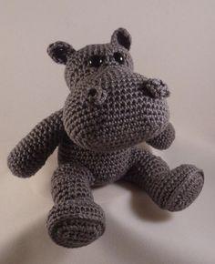Nelis het Nijlpaard - kooppatroon 2,95€
