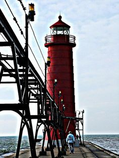Grand Haven Light House, Michigan