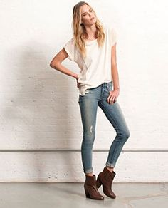 2460 - Skinny - Womens  /JEAN  View All -  Destroyed - W1502K520