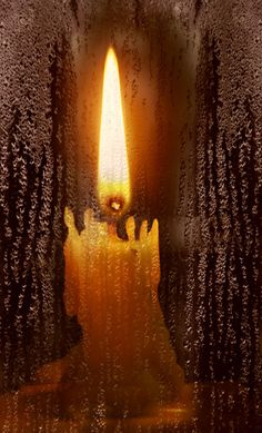 ".""Look at how a single candle can both defy and define the darkness.""  ― Anne Frank"