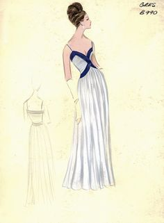 ana_lee: Bergdorf Goodman Archives. Coctail & Evening Dresses