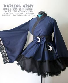 Princess Luna - MLP - Cosplay Kimono Dress I WANT THIS!