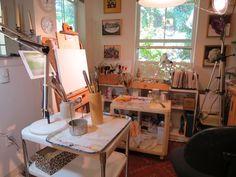 dining room art studio - Google Search