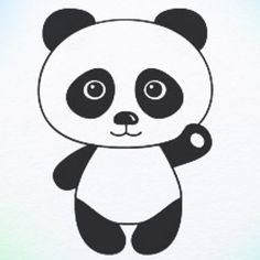 Easy Drawing Of Panda - In the same way draw the entire body with the eraser remove all unnecessary lines. If you draw a lot with pencils. How To Draw Panda Panda Drawing Pan. Panda Drawing Easy, Bear Drawing, Drawing For Kids, Art For Kids, How To Draw Panda, Colorful Drawings, Easy Drawings, Panda For Kids, Panda Love