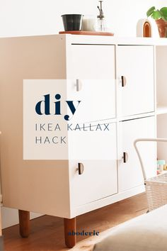 Ikea Dresser Hack, Ikea Kallax Hack, Kallax Shelf, Ikea Storage, Toy Storage, Hemnes, Ikea Hacks, Do It Yourself Ikea, Painting Laminate Cabinets