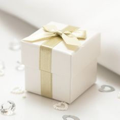 Sage Wedding Favour Boxes - 10 Pack