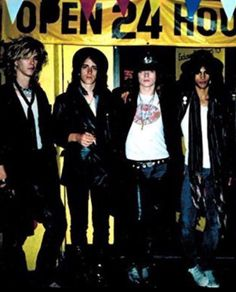 Duff Mckagan Izzy Stradlin Axl Rose Slash