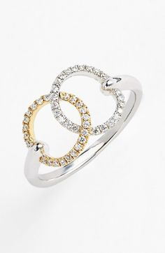 Bony Levy 'Unity' Diamond Cocktail Ring (Nordstrom Exclusive) available at #Nordstrom