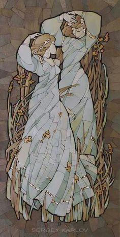 Mosaics by Sergey Karlov
