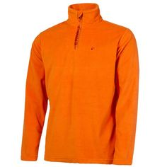 250e0101e9f5 Protest Perfecty 1 4 Zip Mens Fleece Top In Orange The Ski Shop £25.00