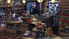 The Shop Around the Corner Bookstore in the movie, You've Got Mail | http://betweennapsontheporch.net