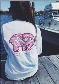 White Ivory Ella Berry Paisley Elephant Pocket Print Long Sleeve Cute Casual Sweatshirt - Sweatshirts - Tops