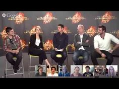 Missed the #CatchingFire Global Google+ Hangout? Want to watch it again? See the cast answer your questions in the full video! #GoogleCatchingFire Don't miss your chance to chat with them today! Follow along at http://hungrgam.es/GLOBALFANDAY for all #GlobalFanDay event details!