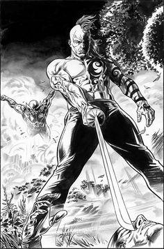 Daken & Wolverine - Doug Braithwaite