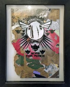 D*FACE - 15 YEARS IN THE MAKING BOMB FOR PEACE - MINISTRY OF WALLS http://www.widewalls.ch/artwork/dface/15-years-in-the-making-bomb-for-peace/ #mixedmedia