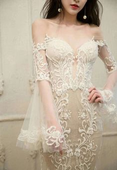 White Lace Fabric, Bridal Lace Fabric, Embroidered Lace Fabric, Wedding Fabric, Tulle Lace, Lace Dress, Prom Dress, Floral Embroidery, Fabric Tutu