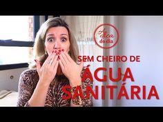 Tirar cheiro de água sanitária - A Dica do Dia - YouTube