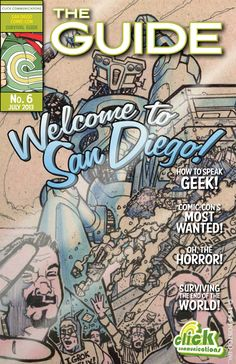 Saving $$$ to take the kids to the next San Diego Comic-Con. Yes, I will need the Survival Guide.