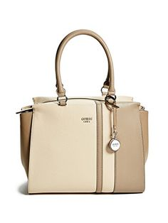 GUESS Womens Castlehill Satchel *** Check out this great product.Note:It is affiliate link to Amazon.