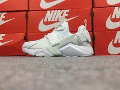 e9a8667ec4dd9 Nike Air Huarache City Low Men s Running Sports Shoes All White AH6804-100