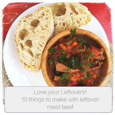 how to use leftover roast