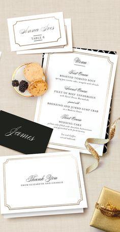Minted Wedding Stationery | Bridal Musings Wedding Blog