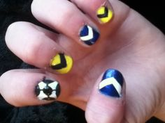 Melbourne Victory Nails (: