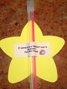 The star class glow stick student gift template freebie school class gift student giftsglow stickseaster negle Images