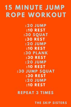 Jump Rope Exercise, Beginner Jump Rope Workout, 10 Minute Cardio Workout, Abs Workout Routines, Cardio Workouts, Yoga Routine, Workout For Beginners, Workout Videos, Rope Exercises