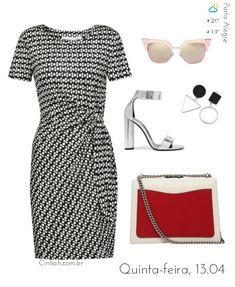 Previsão do Dia | Cintiah! Classy Work Outfits, Office Outfits, Chic Outfits, Fashion Outfits, Look Fashion, Girl Fashion, Hijab Fashionista, Ankara Gown Styles, Business Casual Attire