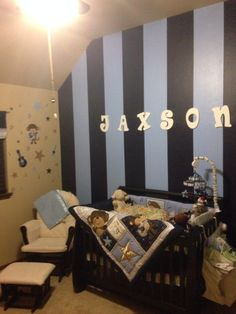 ROCKSTAR monkey theme for the boy's room