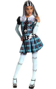 Child Monster High Frankie Stein Costume | Jokers Masquerade