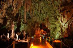 Alistrati cave, Serres, Macedonia, Greece.