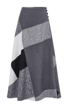 Wool Wrap Skirt  by CAROLINA HERRERA for Preorder on Moda Operandi