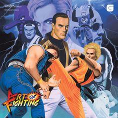 Video Game Music, Retro Video Games, Art Of Fighting, Fighting Games, Vinyl Music, Lp Vinyl, Karate, Yuri, Neo Geo