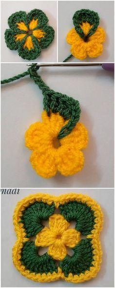 Stylish designs of Crochet Patterns & Ideas To Try – Handwerk und Basteln Crochet Bolero Pattern, Crochet Cap, Granny Square Crochet Pattern, Crochet Flower Patterns, Crochet Stitches Patterns, Cute Crochet, Crochet Designs, Crochet Crafts, Crochet Flowers
