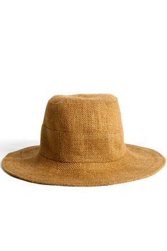 Tsuyumi Jute Mid Brim Bucket Hat