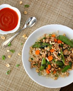 Thai-Style Ground Turkey with Chiles and Basil